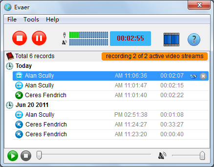 skype video recorder | Record Skype video and audio calls with ...