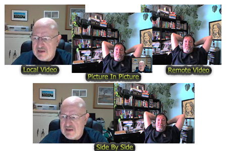 Record Skype video call into side-by-side video or picture-in-picture